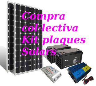 Kit Energia Solar: Compra Col·lectiva