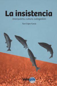 """Foto: Coberta llibre """"La Insistencia"""" per Xavier López"""