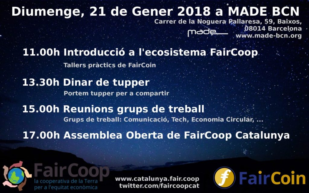 Faircoop Catalunya: Assemblea del node local català
