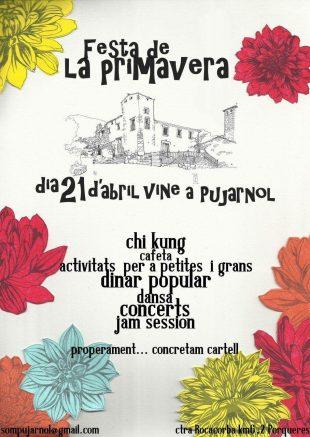 Festa de la primavera a Pujarnol, 21 d'abril 2018