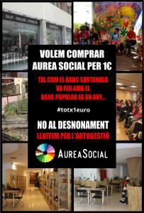 Volem Comprar Aurea Social per 1 €