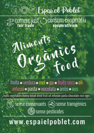 L'Espai el Poblet nou projecte de productes orgànics i cooperatius