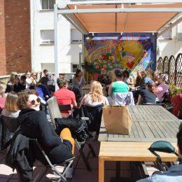 Visita de La Fundació Catalunya Voluntària a l'Espai el Poblet