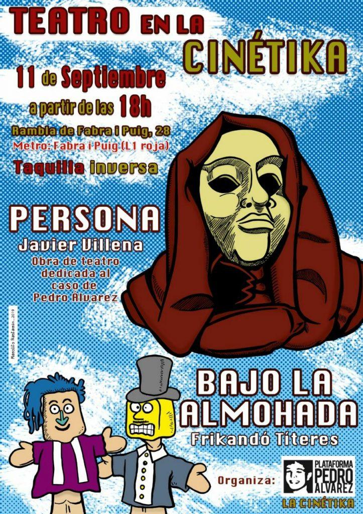 Actes en Homenatge  a Pedro Alvarez -04-09-19